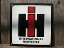 INTERNATIONAL HARVESTER PORCELAIN COAT SIGN RETRO ADV SIGNS