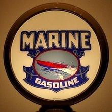 MARINE GASOLINE GAS PUMP GLOBE M