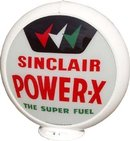 SINCLAIR POWER-X GAS PUMP GLOBE