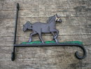 CAST IRON HORSE PLANT HANGER IRONWARE DECOR H
