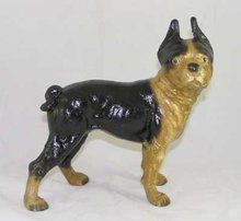 PUG DOG BANK CAST IRON