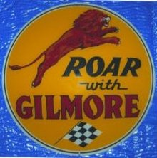 ROAR WITH GILMORE GASOLINE 15