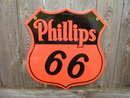 PHILLIPS 66 PORCELAIN COATED SIGN
