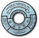 MARTIN & SCHWARTZ MS80 GAS PUMP ALUMINUM ID TAG