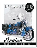 INDIAN EIGHTY ROADMASTER TIN SIGN RETRO METAL ADV SIGNS I
