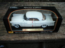 1956 CHRYSLER 1:18 WHITE 300B