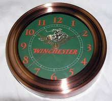 WINCHESTER RIFLES QUARTZ WALL CLOCK