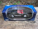 1:18 DIECAST 1958 BLACK CHEVROLET CORVETTE