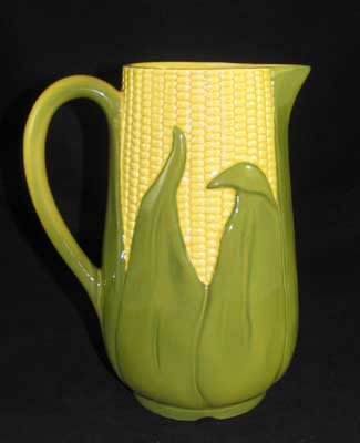 CORN KING WATER PITCHER MARKED SHAWNEE 71