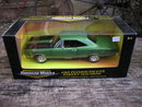 1969 GREEN DIECAST PLYMOUTH GTX STREET MACHINE