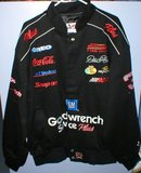 JEFF GORDON BLACK TWILL COAT JACKET XL NWT G