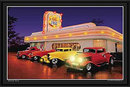 ROUTE 66 DINER LED LIGHT PICTURE SIGN POSTER AD PIC L