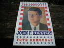 JOHN F KENNEDY POSTER PRINT ADV AD PICTURE K