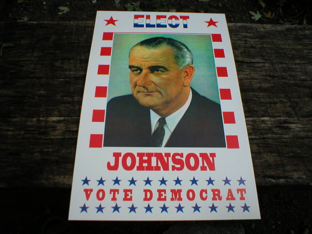 JOHNSON POSTER PRINT ADV AD PICTURE K