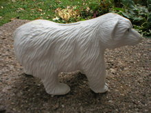 CAST IRON WHITE BEAR BANK B
