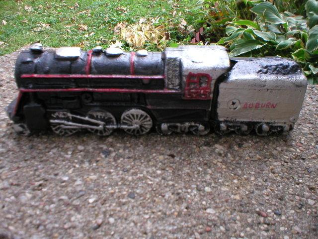 AUBURN TRAIN ENGINE CAST IRON