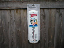 SPEED RACER THERMOMETER METAL ADV SIGNS S