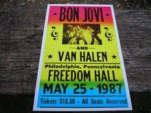 BONN JOVI CONCERT LIVE MUSIC POSTER