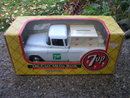 7UP 1:25 SCALE DIECAST 1955 CHEVOLET PICKUP BANK ERTL
