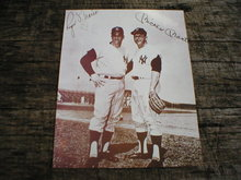 MICKEY MANTLE ROGER MARIS PRINT PICTURE AD SIGN POSTER M