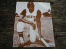 ROBERTO CLEMENTE PRINT PICTURE AD SIGN POSTER C