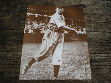 CY YOUNG PRINT PICTURE AD SIGN POSTER C