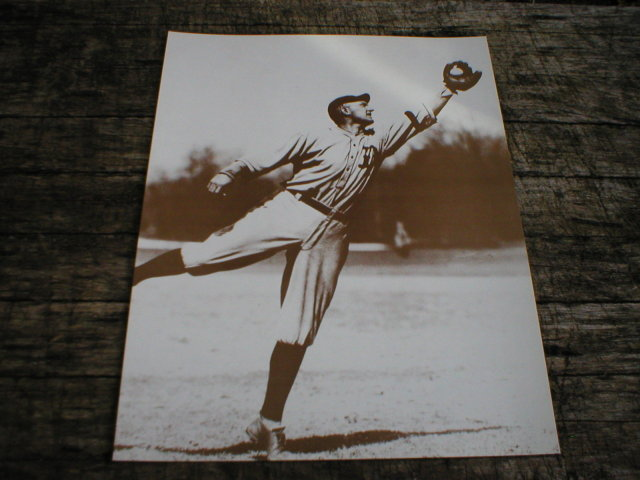 TY COBB PRINT PICTURE AD SIGN POSTER C