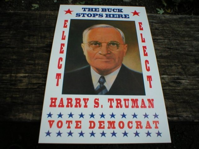 HARRY S. TRUMAN POSTER PRINT