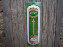 REMINGTON METAL THERMOMETER