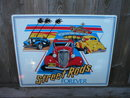 STREET RODS FOREVER TIN SIGN RETRO METAL ADV SIGNS