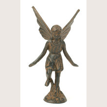 PLAYFUL FAIRY RUSTIC CAST IRON