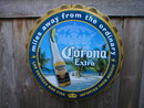 CORONA EXTRA MOLDED CRIMPED TIN BOTTLE CAP M