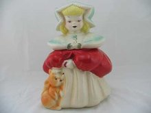 HAND PAINTED GOLDILOCKS COOKIE JAR G