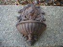 CAST IRON LION PLANTER IRONWARE DECOR A