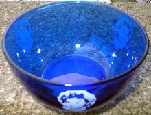 SHIRLEY TEMPLE COBALT BOWL T