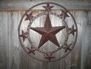 STAR WALL DECOR METAL HOME WALL HANGING