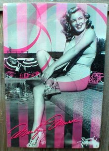 MARILYN MONROE TIN SIGN METAL ADV SIGNS M
