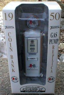 1950 TOKHEIM CORVETTE DIECAST GAS PUMP S