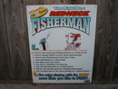 FISHERMAN REDNECK TIN SIGN JEFF FOXWORTHY