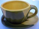 SHAWNEE CORN KING COFFEE CUP SAUCER