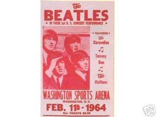 BEATLES 1964 CHRISTMAS SHOW CONCERT POSTER PRINT