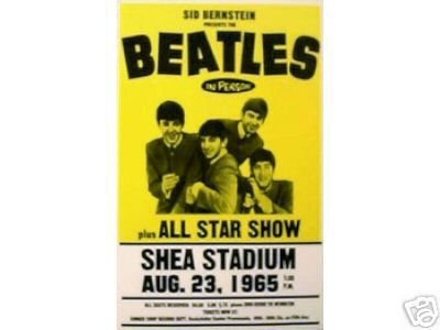 BEATLES SHEA STADIUM 1965 CONCERT POSTER PRINT PICTURE