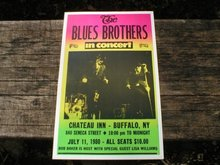 THE BLUES BROTHERS 1980 CONCERT POSTER PRINT PICTURE B