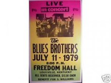 THE BLUES BROTHERS 1979 CONCERT POSTER PRINT PICTURE B