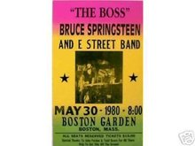BRUCE SPRINGSTEEN RETRO CONCERT POSTER ADV PRINT PIC B