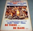 NUDE BICYCLE RACE RETRO ADV PRINT POSTER PICTURE N