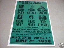 ROCK & ROLL SHOW OF SHOWS 1958 CONCERT POSTER PRINT R