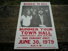AC DC CONCERT POSTER PRINT PIC AD COLLECTOR POSTERS A