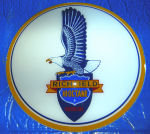 RICHFIELD EAGLE GAS PUMP GLOBE SIGN R