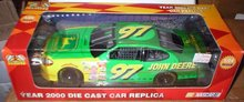 JOHN DEERE DIECAST CHAD LITTLE 1:24 CAR